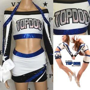 Cheer uniform Allstar Topdog adult med